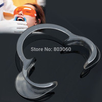 Wholesale Baistra Dental oral hygiene Teeth Whitening Intraoral Lip Cheek Retractor Mouth opener Big C shape white color