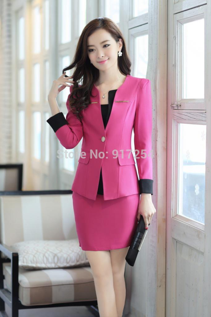 Wholesale-New Style Women's Fall Business Suits Professional ...
