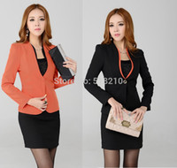 ladies skirt suits - Newest Plus Size XL Professional Business Women Work Wear Skirts Suits Formal Women Sets For Office Ladies Fall Suits