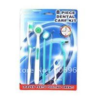 best dental floss - Best selling Piece Oral clean tools Dental Care Tooth Brush dental floss hygiene Teeth Whitening Kit Set