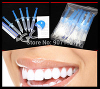 Cheap Wholesale-1Packs lot Teeth Whitening 35% Peroxide Dental Professional Bleaching System Gel 50ML Kit MY316