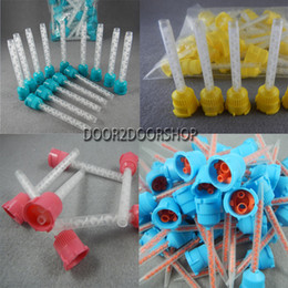 Wholesale Dental Silicone Rubber Mixing conveyor Head Dental Impression Material Types Available