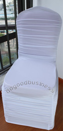 Wholesale ruffle spandex chair cover