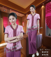 beauty spa services - set free ship Beauty services clothes hydrotherapy spa work wear Health club suit uniforms