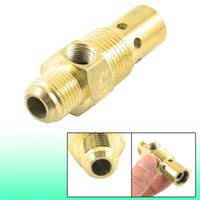 Wholesale 3 Inch PT Male Thread Air Compressor One Way Check Valve Gold Tone