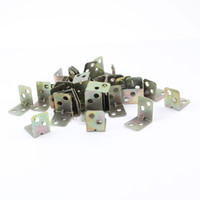 corner bracket - 100 mm x mm x mm Chair Door Brackets Metal Corner Braces Brass Tone