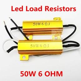 Descuento las luces de carga Al por mayor-2x 6ohm 50W bombilla LED señal de vuelta Niebla Correr resistor de la carga del flash reparar el error de Luz