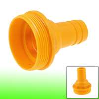 Wholesale 1 Inch Water Pump Hose Barb to Inch Male Thread Coupler Adapter Fitting Orange