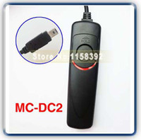 Wholesale New Remote Shutter Release Switch MC DC2 for Nik n D90 D3100 D5000 J0020