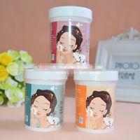 Wholesale Facial cleansing towel xiezhuang cotton wet wipe unoil clean skin gentle