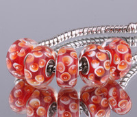 Wholesale sterling silver DIY thread Murano Glass Beads Charms fit Europe pandora Bracelets necklaces bffajwma bsrakjya F029