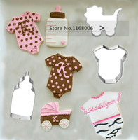 baby sugar cookies - baby bottles amp bb clothes amp baby carriage cookies cutter baking mould stainless steel diy sugar biscuit cutter