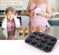 baking tray sizes - Cups Carbon Steel Non stick Cupcake Baking Tray Cup Cake Mold cm Mini Size Muffin Baking Pan