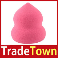 better promotions - New Design TradeTown Bottle Gourd Sponge Flawless Smooth Pro Beauty Makeup Powder Puff Better Price Big Promotion