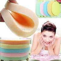 age makeup - Pure natural seaweed face robot beauty makeup Pore Cleansing sponge Remove aged horniness wash facial cotton puff multi