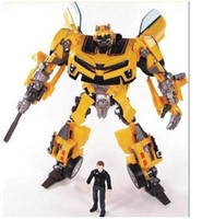 american robots - American movie robot figure toy Autobot Human Alliance Bumblebee and Sam toys for boys Birthday gift marvel action figures