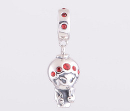 New Charms Sterling Silver Beijing Opera Characters 925 Sterling Charms Suitable for Pandora Charm Bracelets & Necklaces