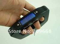 Wholesale big handle kg g Portable LCD backlit Digital Electronic Hanging Luggage scale Hook Fishing Weighing Scale