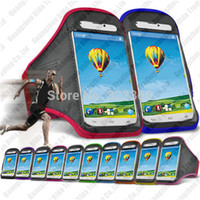 Cheap Wholesale-On Stock For ZTE Blade L2 Sports Gym band Armband Exercise Pouch Bag Protection Case Bags Free Shipping