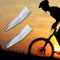 Wholesale NEW Team Cycling Armwarmers Cycling Wear Cycling Apparel Cycling Overvsleeves bicycle bike arm sleeves bicycle accessories