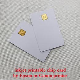 Impresoras de inyección de tinta gratis en Línea-Al por mayor-el envío Gratuito de inyección de tinta de tarjeta chip para Epson impresora directamente 25pcs/lot