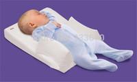 baby sleep cushion - Hot Sale Baby Infant Newborn Anti Roll Pillow Ultimate Sleep Positioner System Prevent Flat Head Cushion