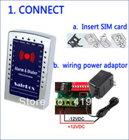 home security equipment - Hot sale cheaper wireless smart GSM security alarm equipment home alarm S160