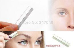 Wholesale Box Eyebrow Trimmer Razor Blade Special Platinum Coated Edge Shaving Blades Nail Art Makeup Tools