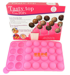 Wholesale hot amp new manual included tasty top cake pops silicone DIY cake maker muffin sweet candy jelly mould