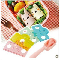 Wholesale new arrivals set DIY D kawaii kid sushi mold rice ball maker japan japanese sushi mould seaweed cutter arnest sushi tool