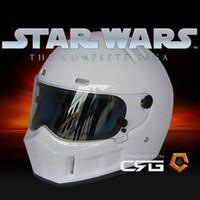 best safety helmet - StarWars ATV helmet Best Sales Safety Motorcycle Full Face Helmets Simpson same model Karting helmet