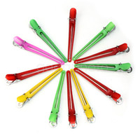 Wholesale Hot Sale Colorful Hairdressing Clips Duck Clamps Hair Salon Styling Grip