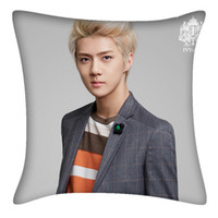 Wholesale KPOP EXO K SEHUN Personal Version Fashion Korean Custom Two Sided Pillow DPW330
