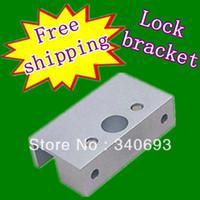 aluminium glass doors - Aluminium Alloy Glass Door U Bracket matched the electronic lock on glass door bracket electrolock aluminum clip