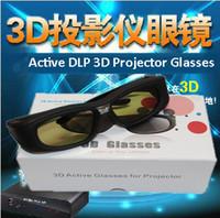 Wholesale Hz DLP LINK active shutter Rechargeable D glasses active shutter dlp D glasses for DLP D projector