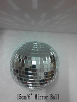 mirror ball disco ball - cm diameter clear glass rotating mirror ball quot disco DJ party lighting without mirror ball motor ABC MB inch