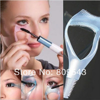 accessories shows - New Show Hot High Quality Makeup Tool Pluripotent in1 Mascara Eyelash Brush Curler Lash Comb Cosmetic Accessory for Women