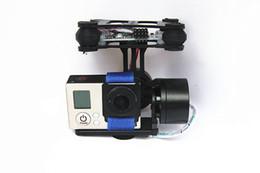 Wholesale DJI Phantom Brushless Gimbal Camera Frame Motors Controller for Gopro3 FPV RTF