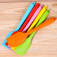 big butter - Newest Kitchen Baking Tool Silicone Cake Spatula Mixing Batter Scraper Brush Butter Mixer Cake Tool Big Size CM