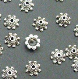 Wholesale Tibetan Silver Bali Style Filigree Bead Caps