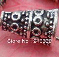 bali silver clasps - HOT Tibetan Silver Bali Style Bead End Caps DIY Metal Jewelry Cones mmx7 mmx10 mm C018