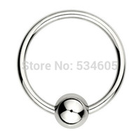 bcr piercing - G SURGICAL STEEL BALL CLOSURE RING BCR PIERCING