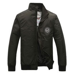 Wholesale Windproof amp Waterproof Men Military Casual Jackets Size M XL Outdoor Fashion Basic Style Men Top Pilot Coats