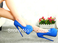 big fish shoes - Sale summer cm ultra high heels sexy women s shoes cosplay pumps Suede fish mouth women s shoes big size