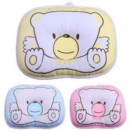 Wholesale Hot selling baby pillow nursing pillow bedding set orthopedic pillow cotton baby shaping pillow high quality