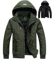 canada - Winter Casual Canada Mens cotton coat army green outwear coats military man jackets men spring jacket men coat Parka Coats