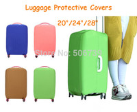 Wholesale travel luggage protective covers luggage cover elastic inch inch inch sizes available