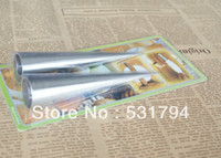 aluminum in oven - piece tapered aluminum tube roll Croissant Danish baking cake mold bakeware tool use in the oven