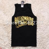 Cheap Wholesale-HIPHOP Billionaire Boys Club Vests printed tank men brand Skateboard Undershirt famous Tank Tops men brand active sport