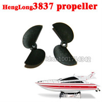 atlantic boats - set Spare Propeller for HengLong RC Atlantic Yacht Racing Boat HL3837 spare parts
